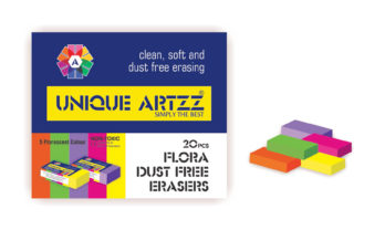 Flora Dust Free Eraser